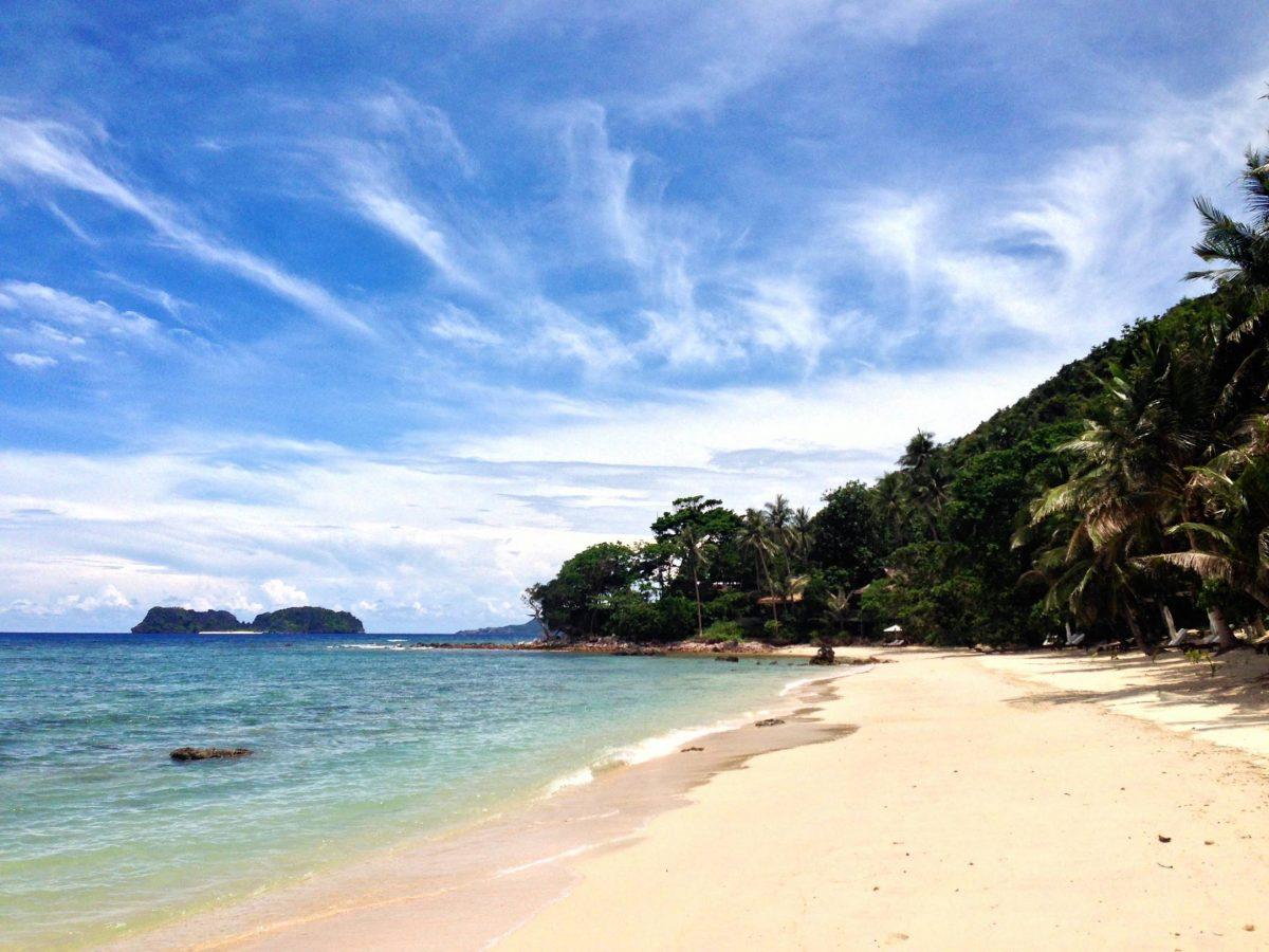 Filipiny - Palawan, Wyspa Pangualasian