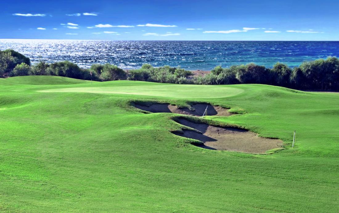 Belek, Titacnic Golf Club - widok na Morze Śródziemne