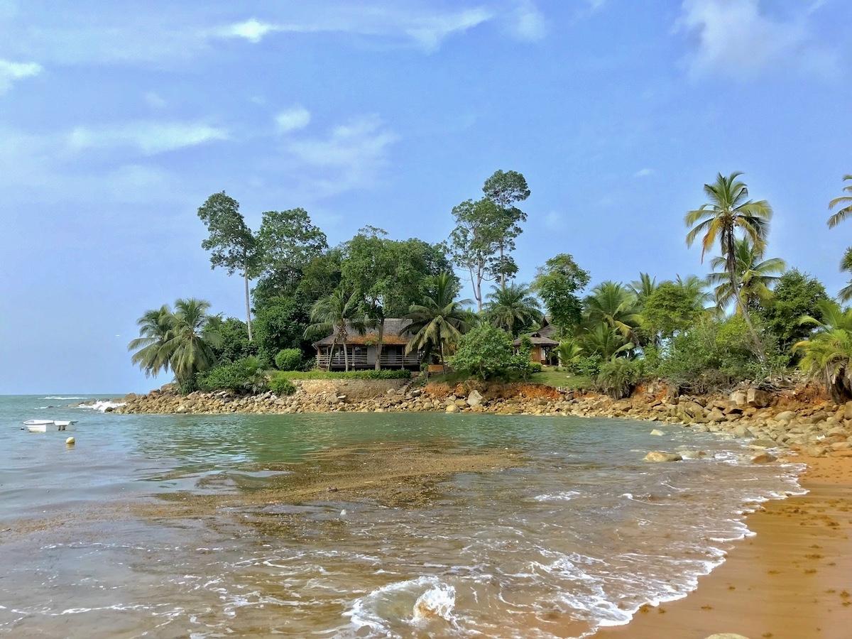 Ghana - Lodge nad wybrzeżem Atlantyku