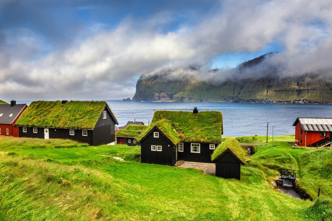Wieś Mikladalur, Wyspy Owcze, Dania