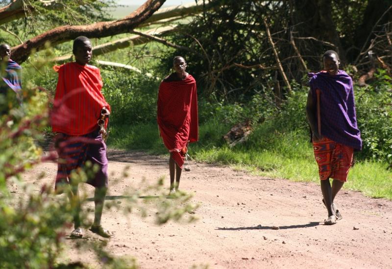 Park Narodowy Amboseli – Masajowie
